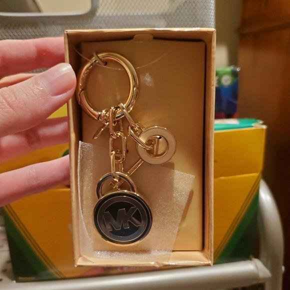 MK Michael Kors keychain